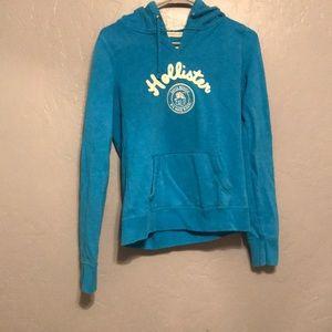 Turquoise holister sweatshirt
